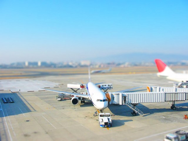 Itami_airport_miniatures